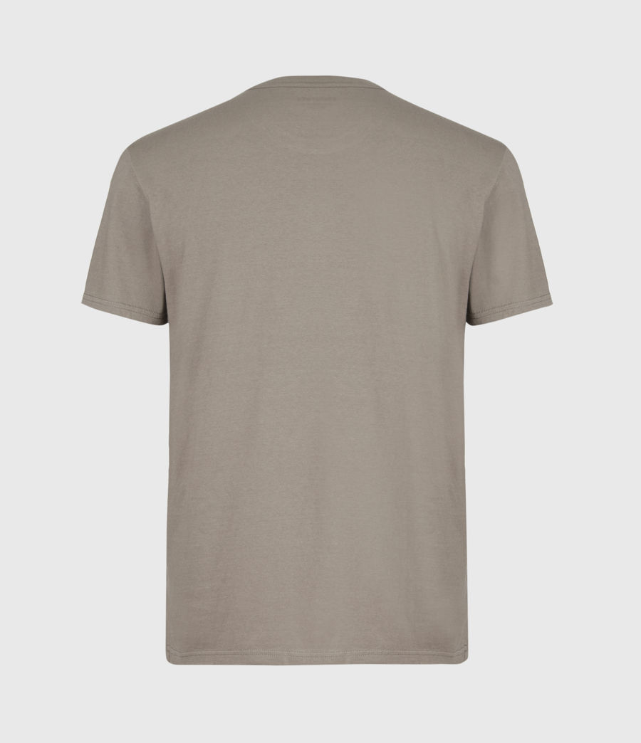 Hommes Kylo Crew T-Shirt (mangrove_brown) - Image 3