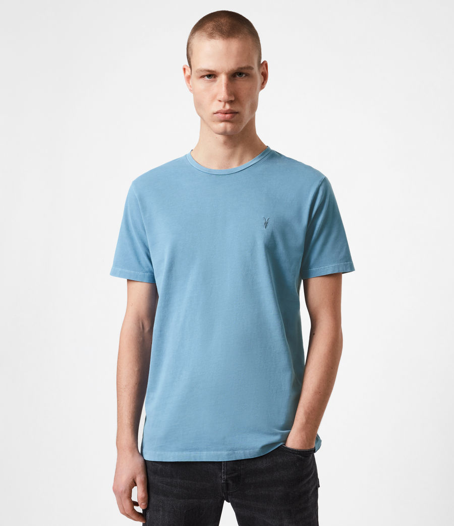 Mens Ossage Crew T-Shirt (mirage_blue) - Image 1