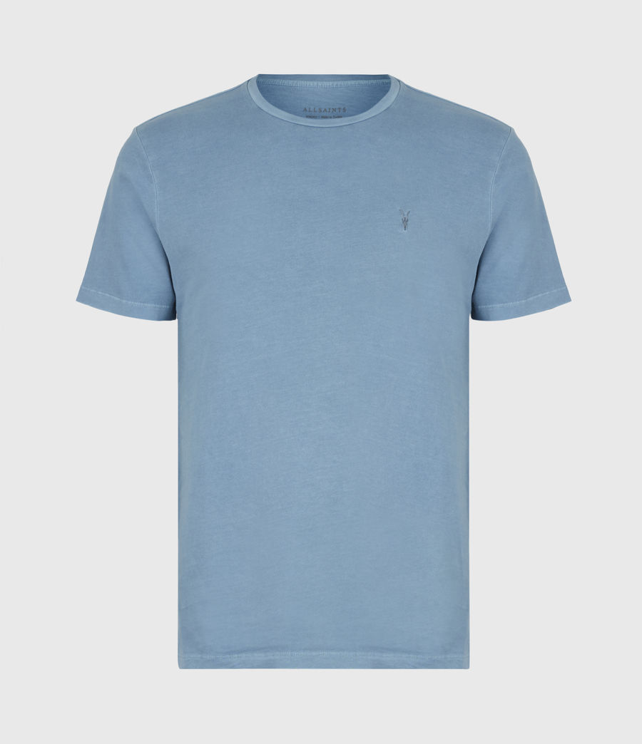 Mens Ossage Crew T-Shirt (mirage_blue) - Image 2