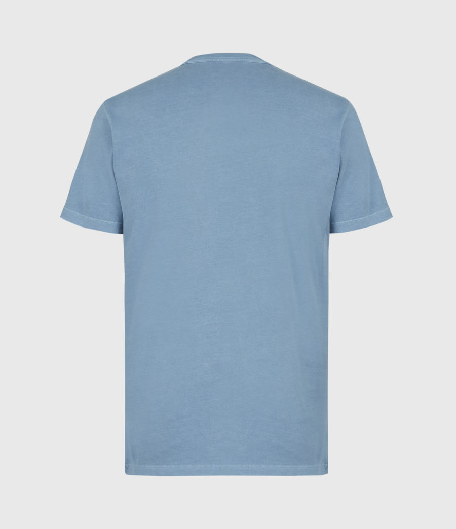 Mens Ossage Crew T-Shirt (mirage_blue) - Image 3