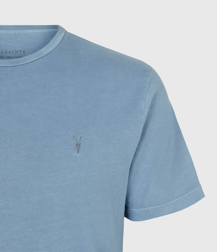 Mens Ossage Crew T-Shirt (mirage_blue) - Image 4