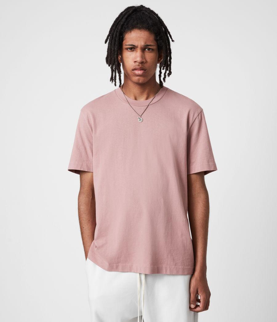 Mens Musica Crew T-Shirt (urulu_pink) - Image 1