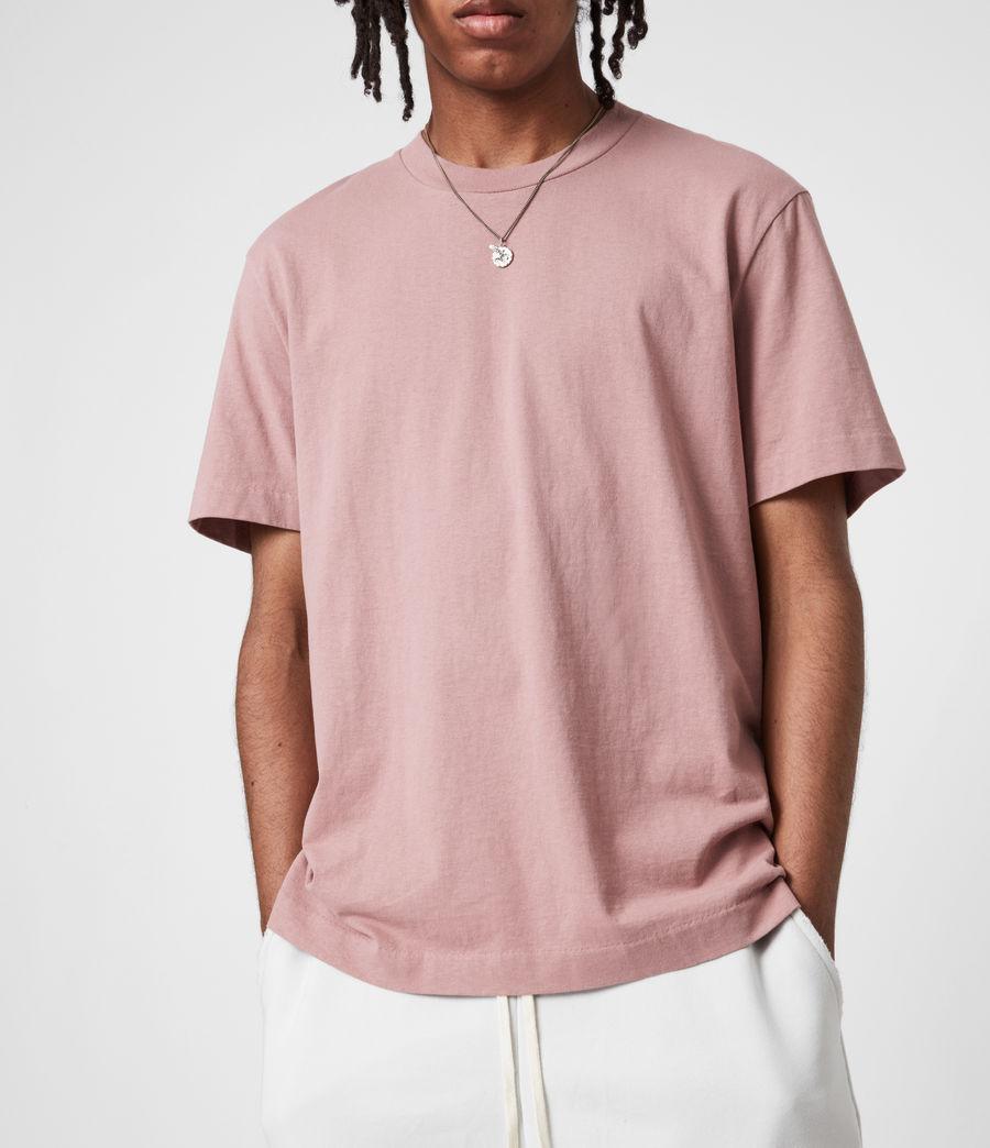 Mens Musica Crew T-Shirt (urulu_pink) - Image 4