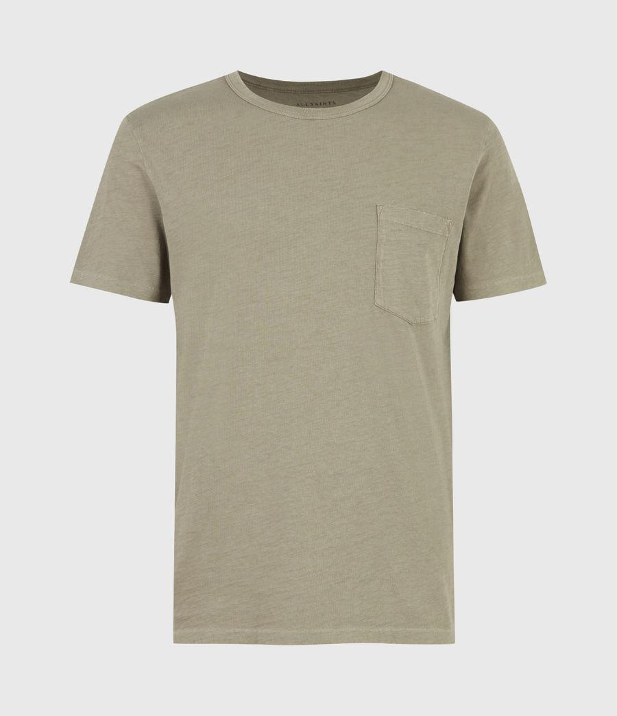 Men's Gage Organic Cotton Crew T-Shirt (mangrove_brown) - Image 2