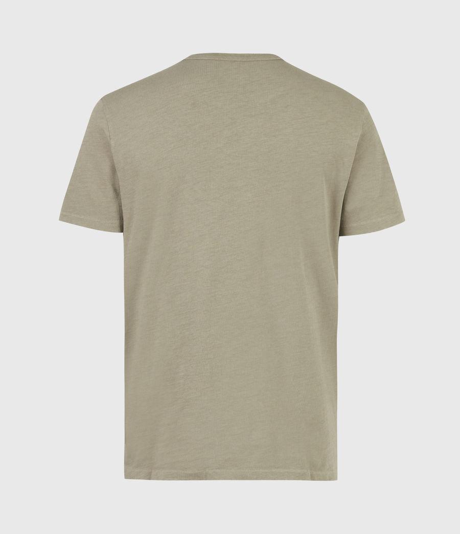 Men's Gage Organic Cotton Crew T-Shirt (mangrove_brown) - Image 3