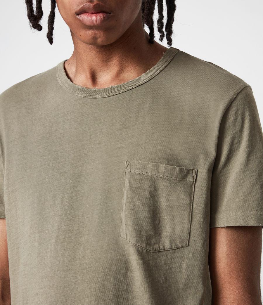 Men's Gage Organic Cotton Crew T-Shirt (mangrove_brown) - Image 4