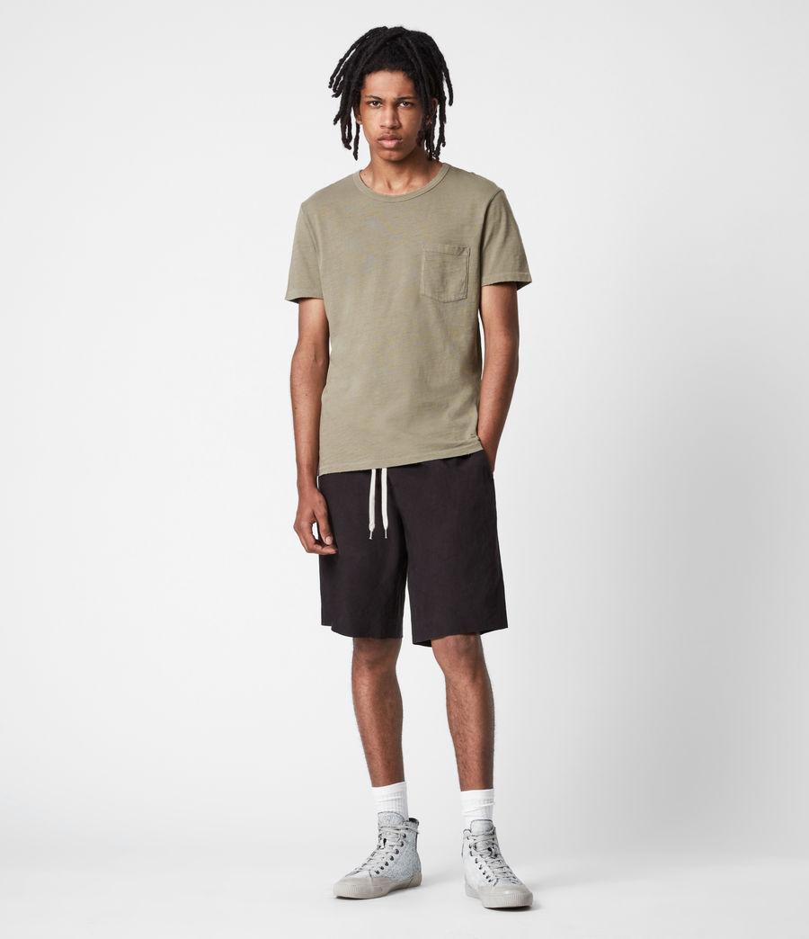 Men's Gage Organic Cotton Crew T-Shirt (mangrove_brown) - Image 6