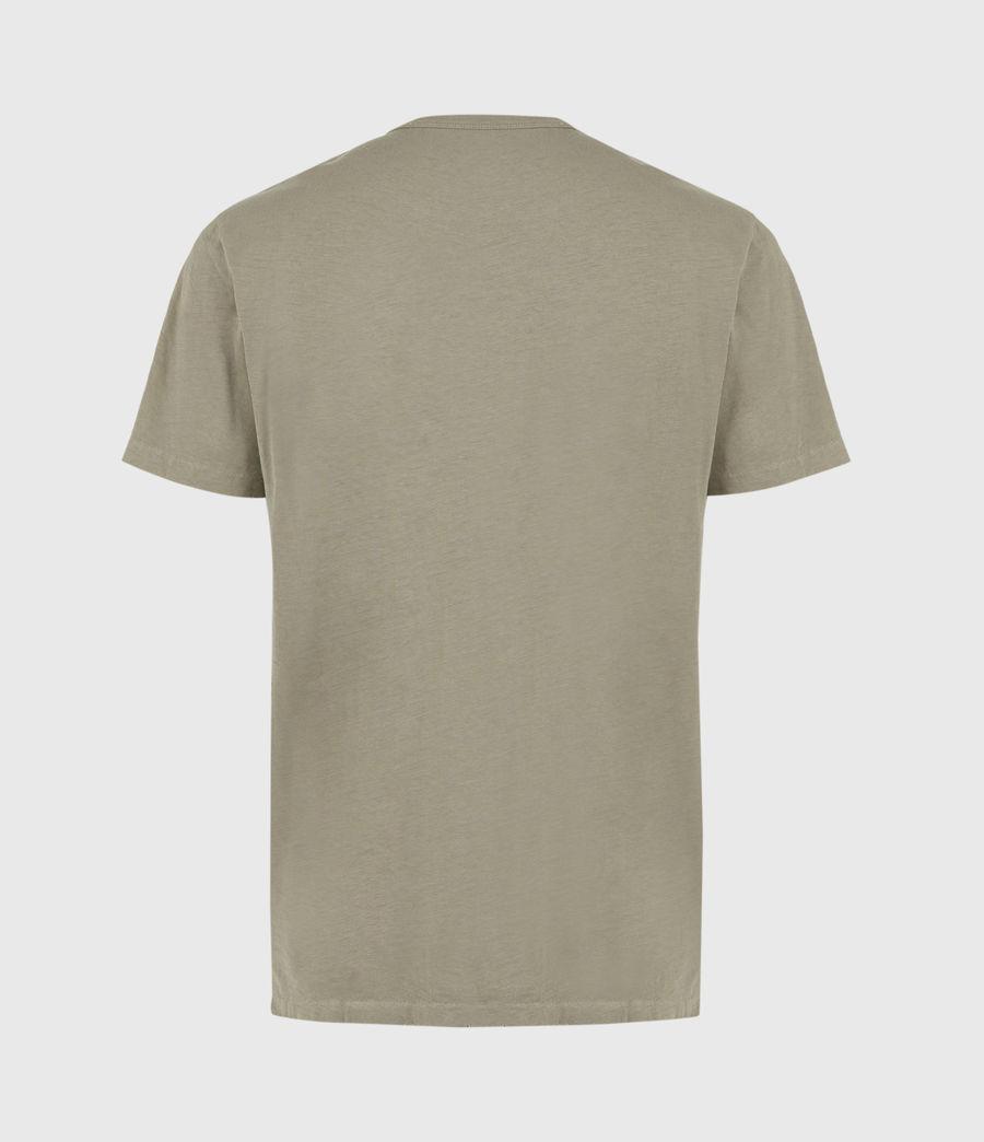 Mens Gage Organic Cotton Crew T-Shirt (palm_green) - Image 3