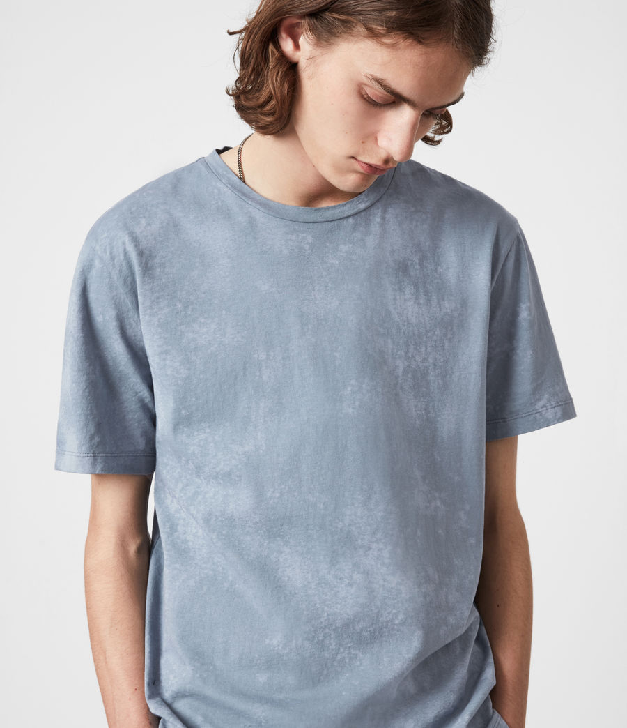 Mens Wyatt Crew T-Shirt (twilight_grey) - Image 4
