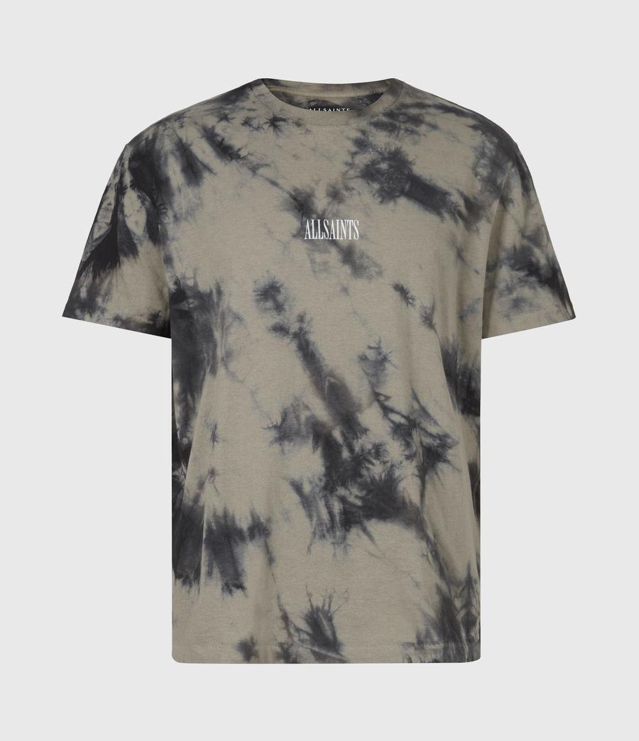 Hommes T-Shirt State Tie-Dye (jet_bk_mangrove_br) - Image 2