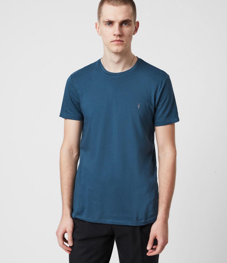Men's Tonic Crew 3 Pack T-Shirts (optic_gry_ml_smalt) - Image 2
