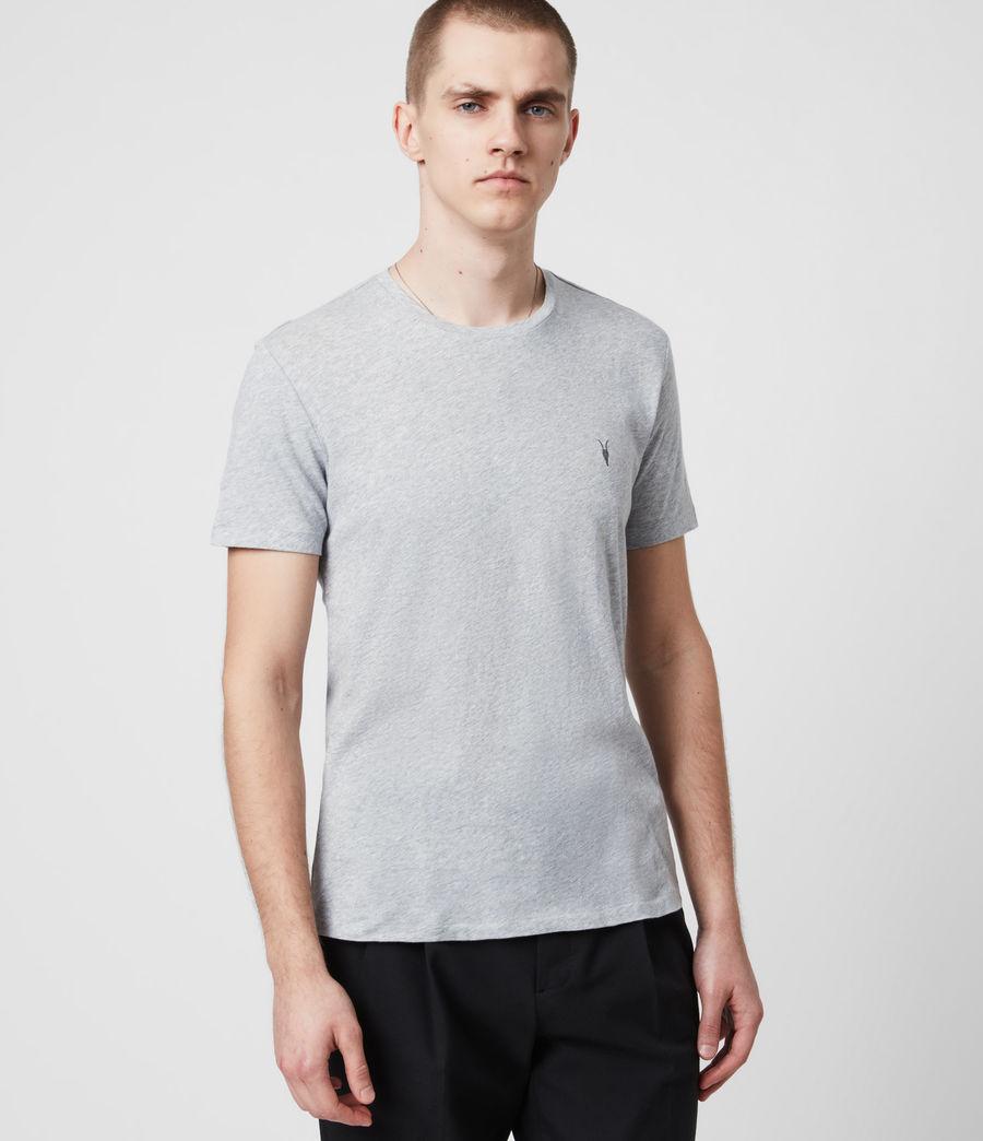 Men's Tonic Crew 3 Pack T-Shirts (optic_gry_ml_smalt) - Image 3