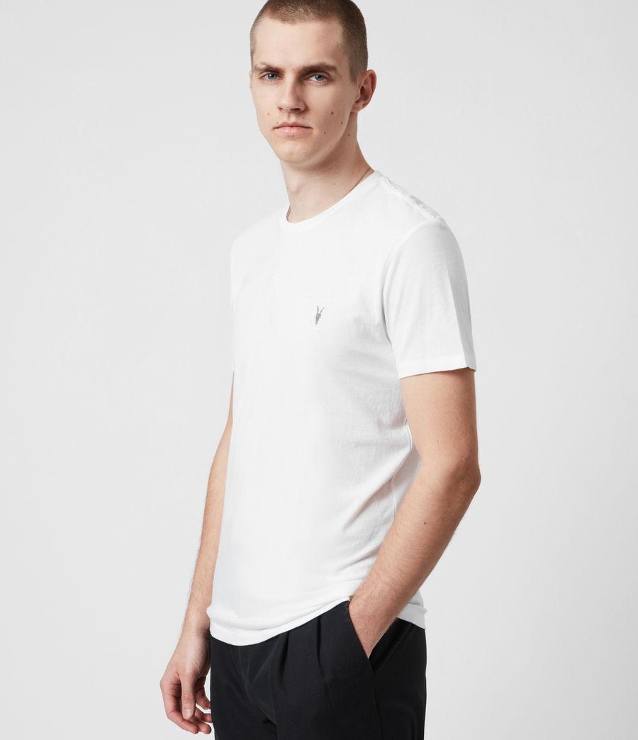 Men's Tonic Crew 3 Pack T-Shirts (optic_gry_ml_smalt) - Image 4