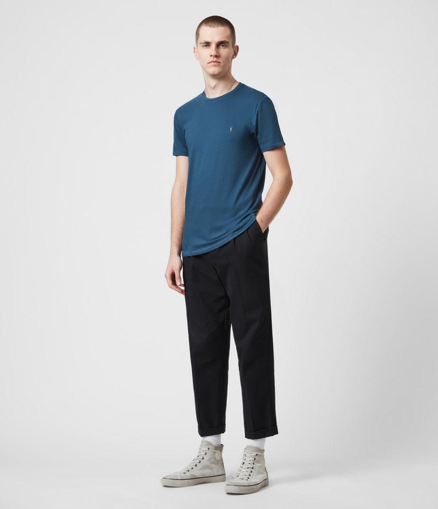 Men's Tonic Crew 3 Pack T-Shirts (optic_gry_ml_smalt) - Image 5