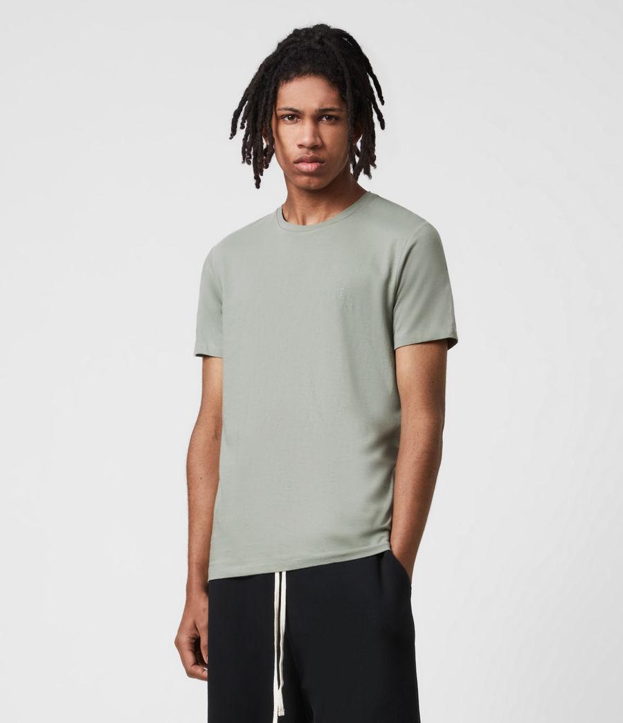 Herren Tonic Crew 3 Pack T-Shirts (optic_palm_agave_g) - Image 3
