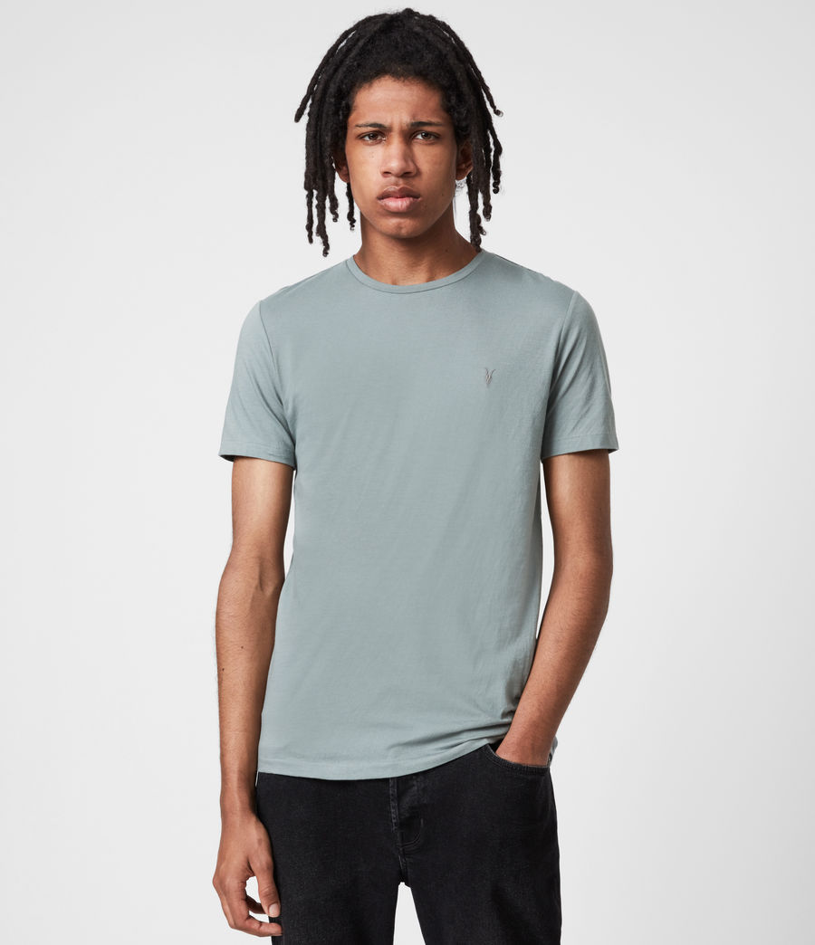 Men's Tonic Crew 3 Pack T-Shirts (opt_breezy_gothic) - Image 2