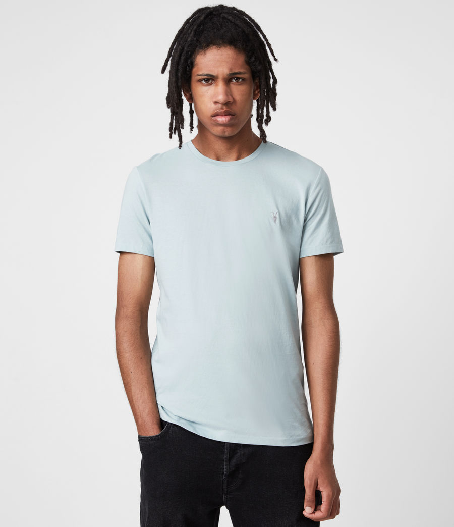 Men's Tonic Crew 3 Pack T-Shirts (opt_breezy_gothic) - Image 3