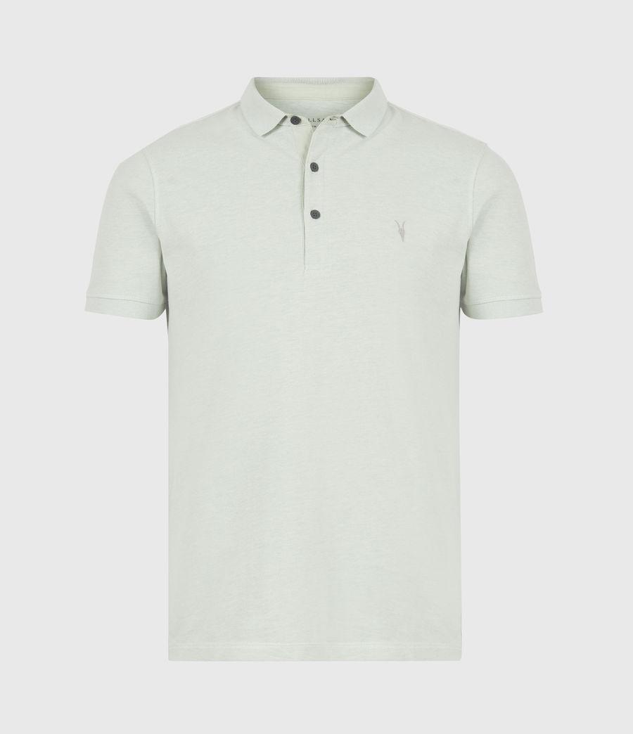 Herren Reform Short Sleeve Polo Shirt (mellow_green_marl) - Image 2