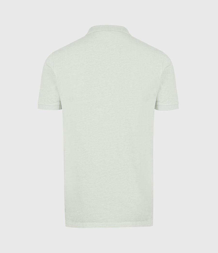 Herren Reform Short Sleeve Polo Shirt (mellow_green_marl) - Image 3