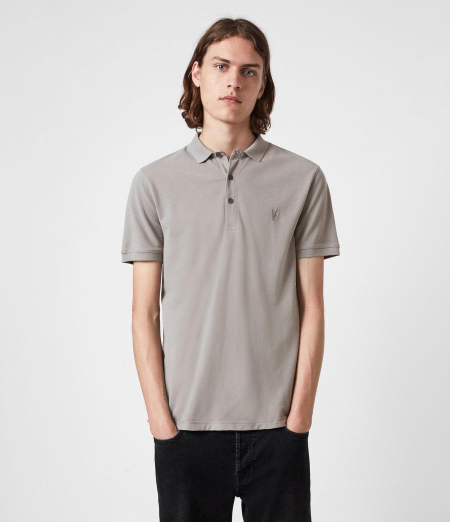 Herren Reform Short Sleeve Polo Shirt (gargoyle_grey) - Image 1