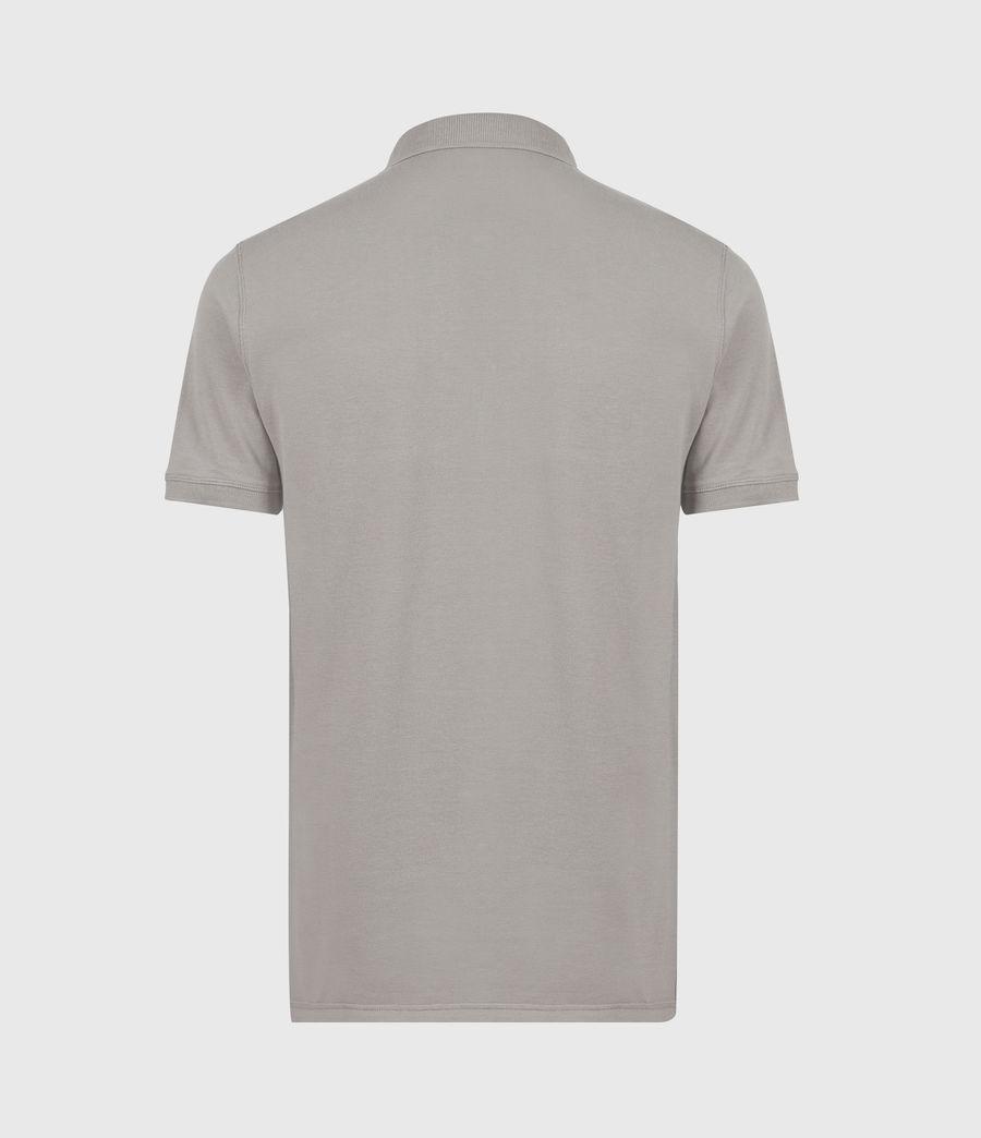 Herren Reform Short Sleeve Polo Shirt (gargoyle_grey) - Image 3