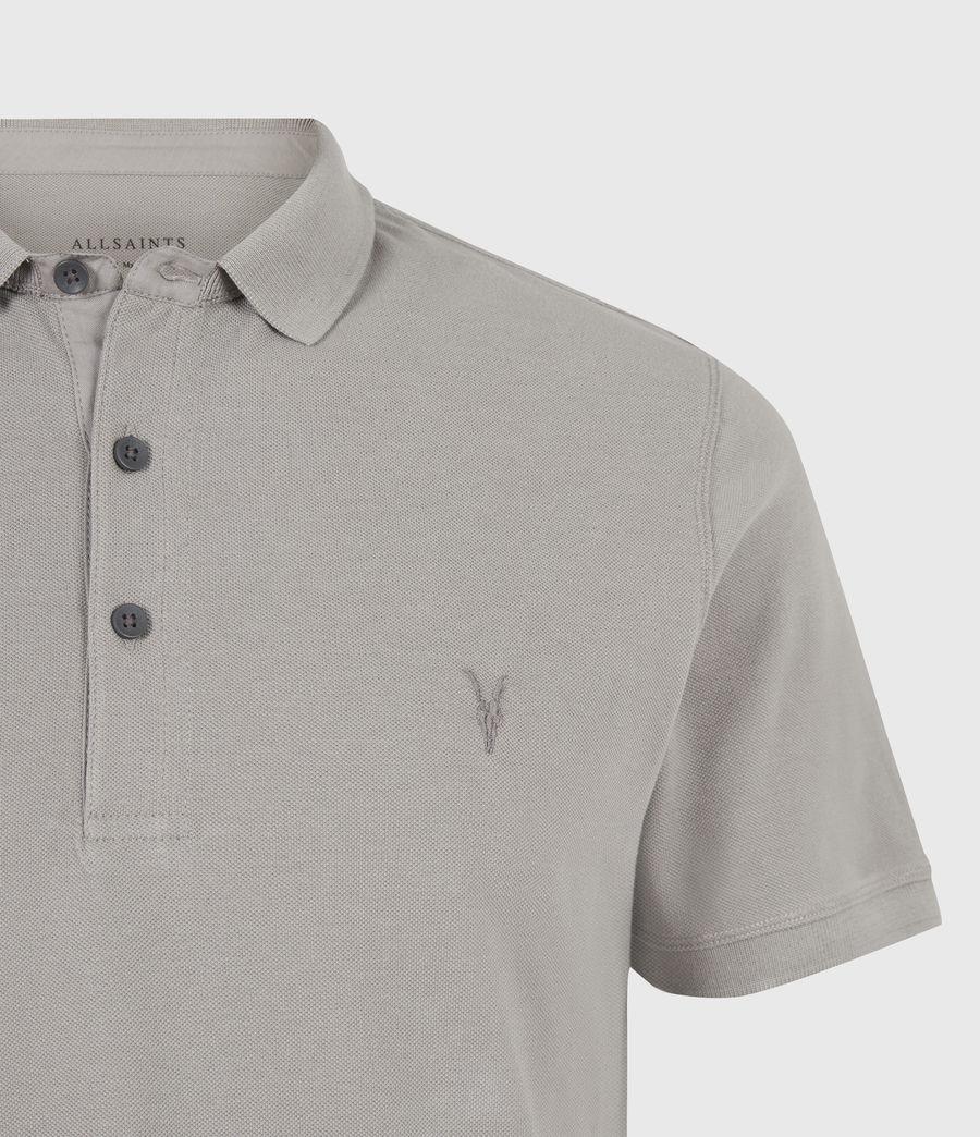 Herren Reform Short Sleeve Polo Shirt (gargoyle_grey) - Image 5