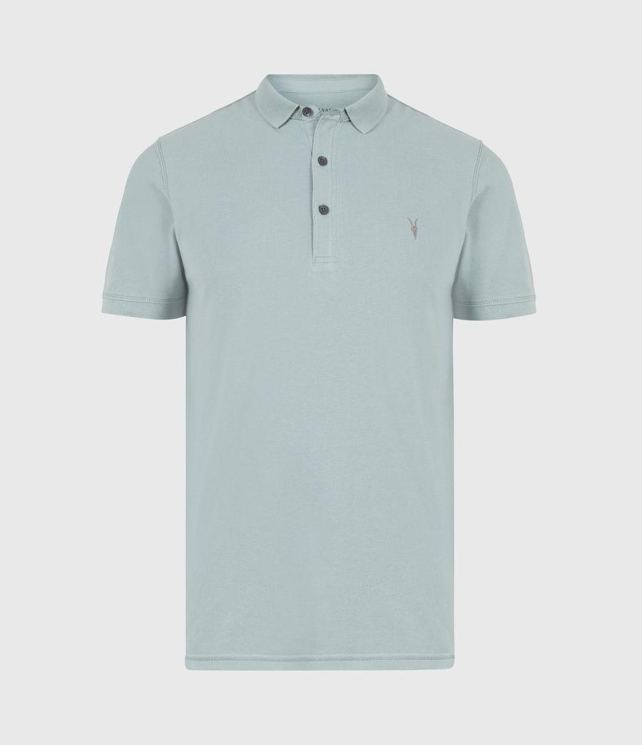 Herren Reform Short Sleeve Polo Shirt (moon_blue) - Image 2