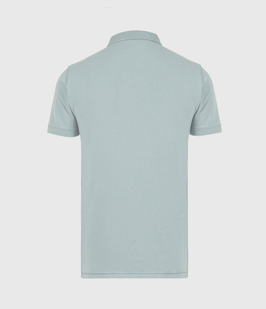 Herren Reform Short Sleeve Polo Shirt (moon_blue) - Image 3