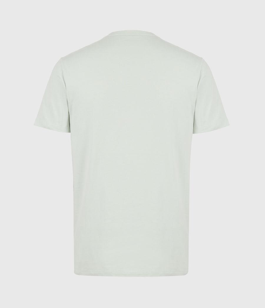 Herren Brace Crew T-Shirt (mellow_green_marl) - Image 3