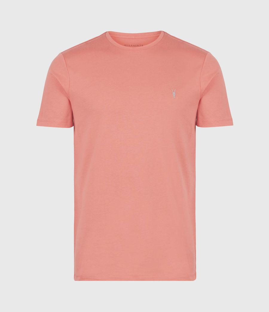 Herren Brace Crew T-Shirt (grenadine_pink) - Image 2