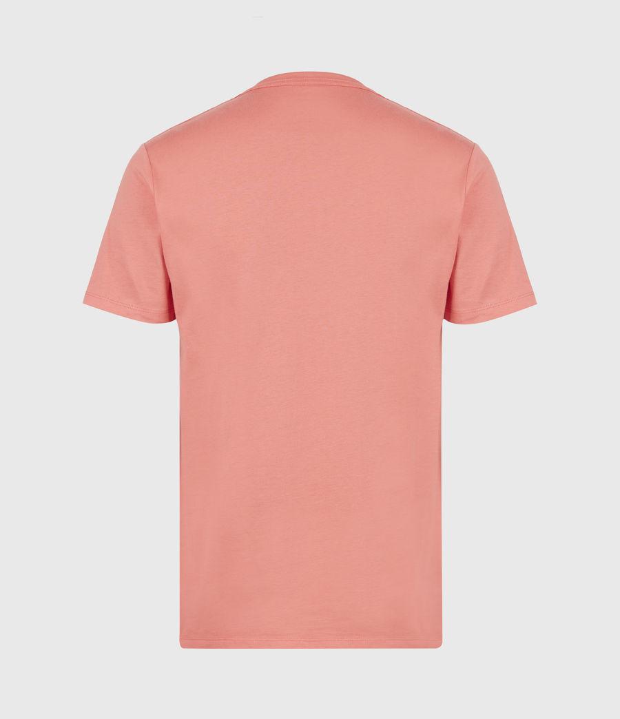 Herren Brace Crew T-Shirt (grenadine_pink) - Image 3