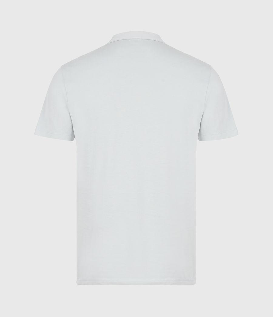 Herren Brace Short Sleeve Polo Shirt (breezy_blue_marl) - Image 3