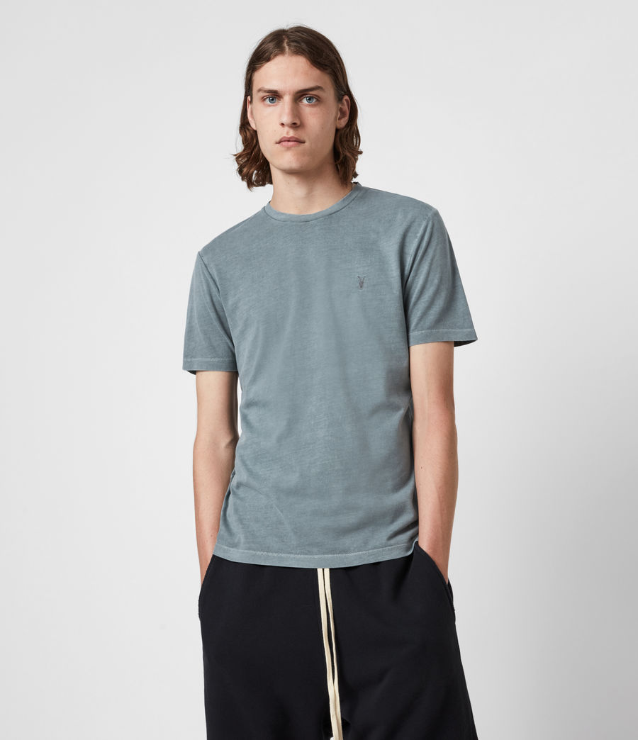 Men's Ossage Crew T-Shirt (gothic_grey) - Image 1