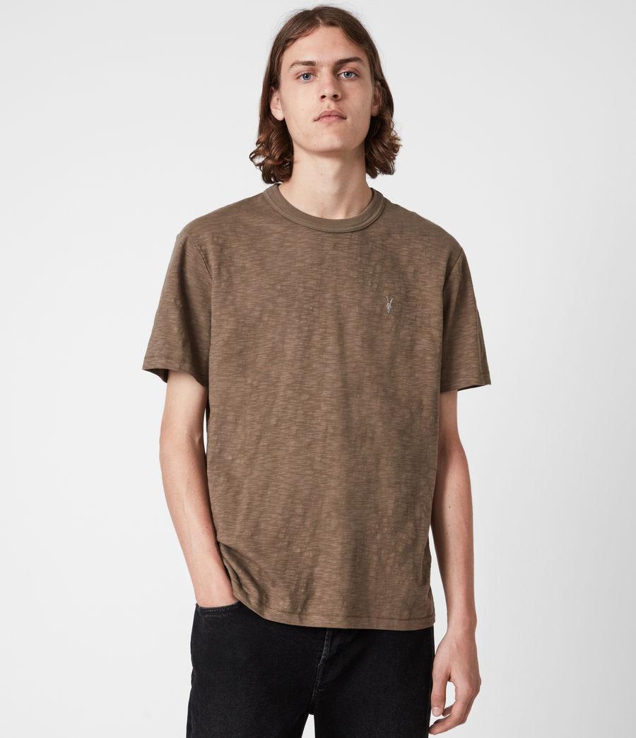 Herren Dexter Crew T-Shirt (alpine_brown) - Image 1