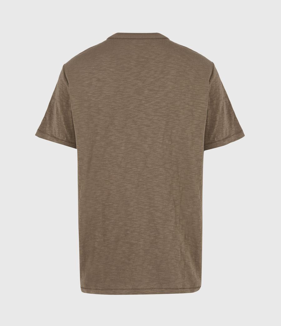 Herren Dexter Crew T-Shirt (alpine_brown) - Image 3