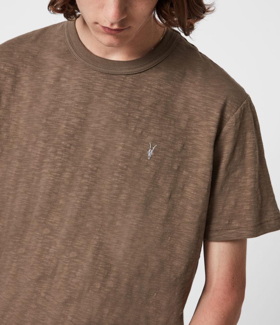 Herren Dexter Crew T-Shirt (alpine_brown) - Image 4