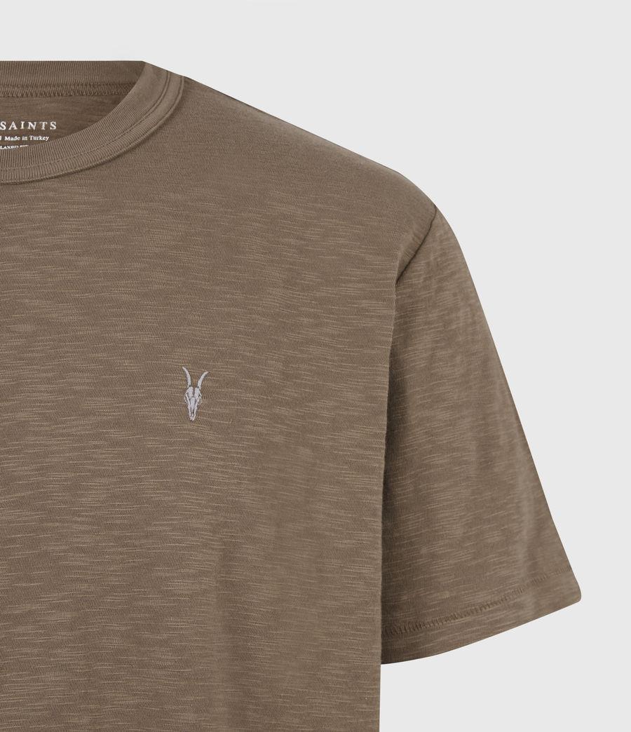 Herren Dexter Crew T-Shirt (alpine_brown) - Image 5