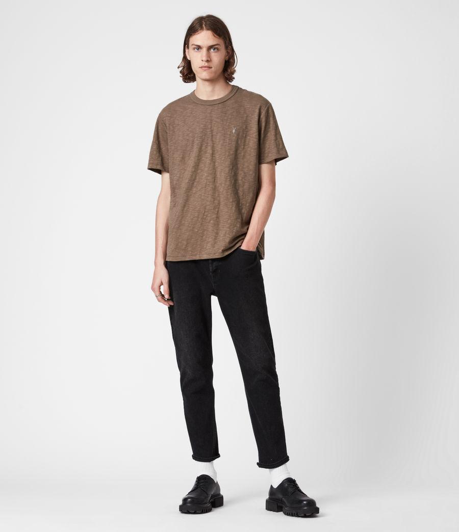 Herren Dexter Crew T-Shirt (alpine_brown) - Image 6