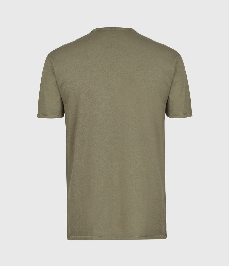 Mens Figure Henley T-Shirt (willow_taupe) - Image 3
