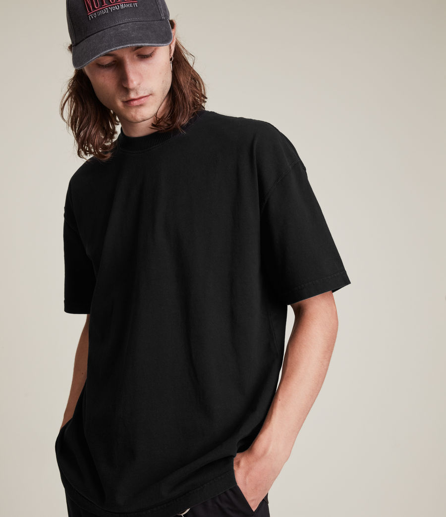 Men's Kyan Crew T-Shirt (jet_black) - Image 1