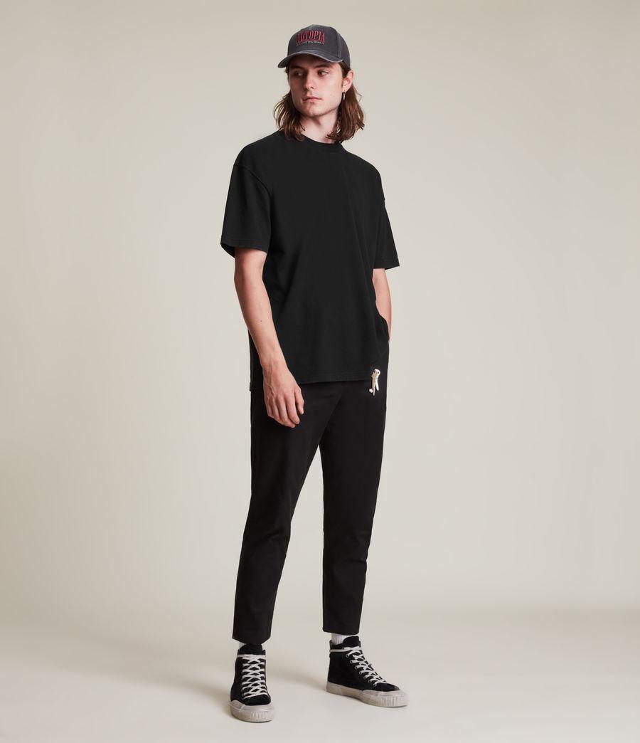 Men's Kyan Crew T-Shirt (jet_black) - Image 3