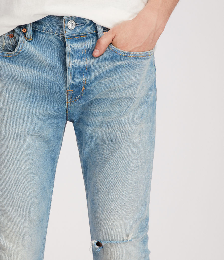 Men's Index Cigarette Skinny Jeans (indigo) - Image 2