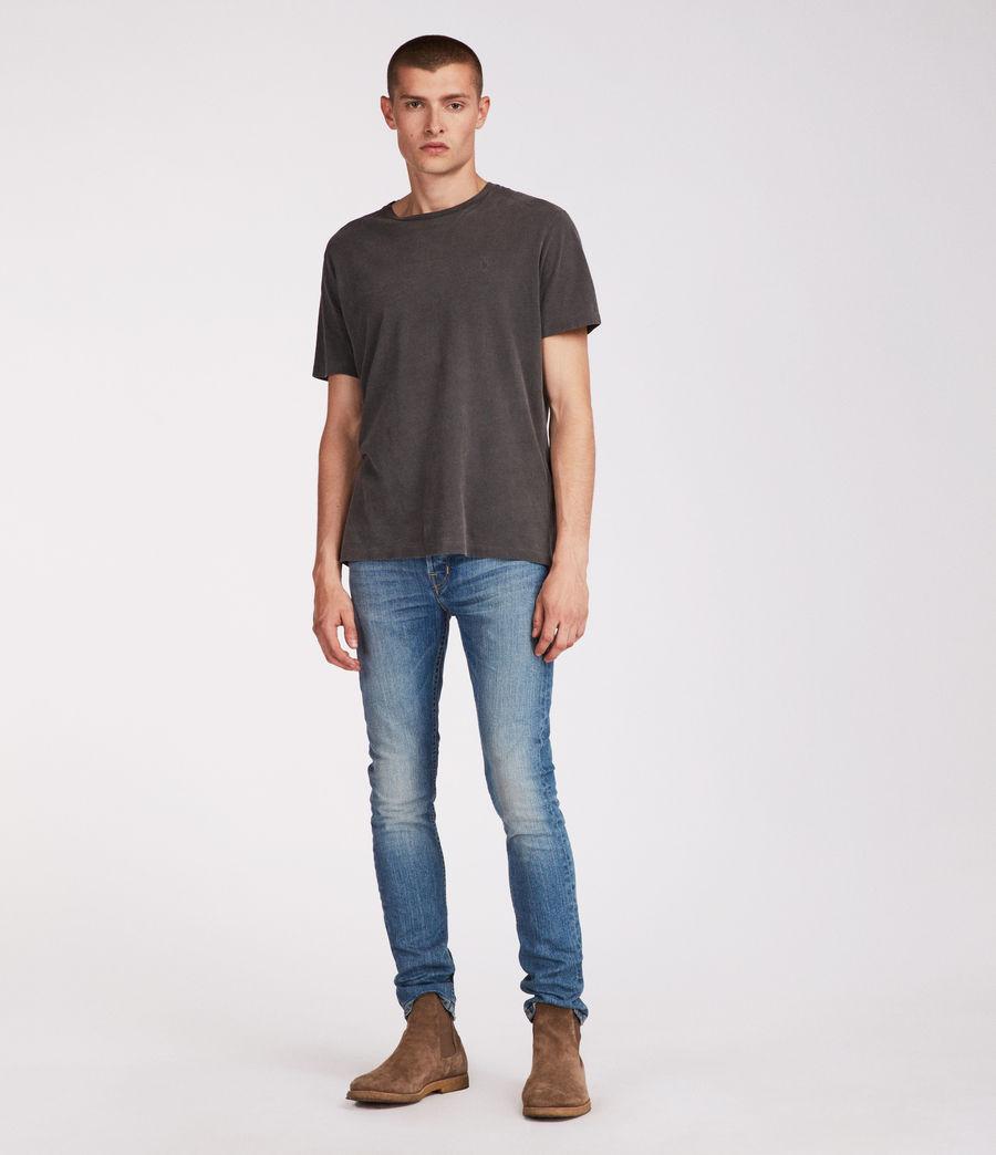Men's Ione Cigarette Skinny Jeans, Indigo (indigo) - Image 3