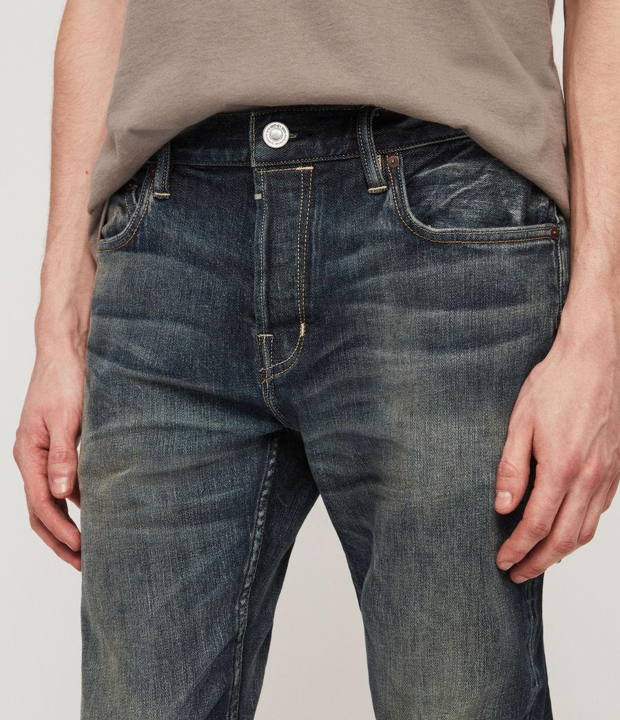 Herren Cigarette Skinny Jeans (mid_indigo_blue) - Image 2