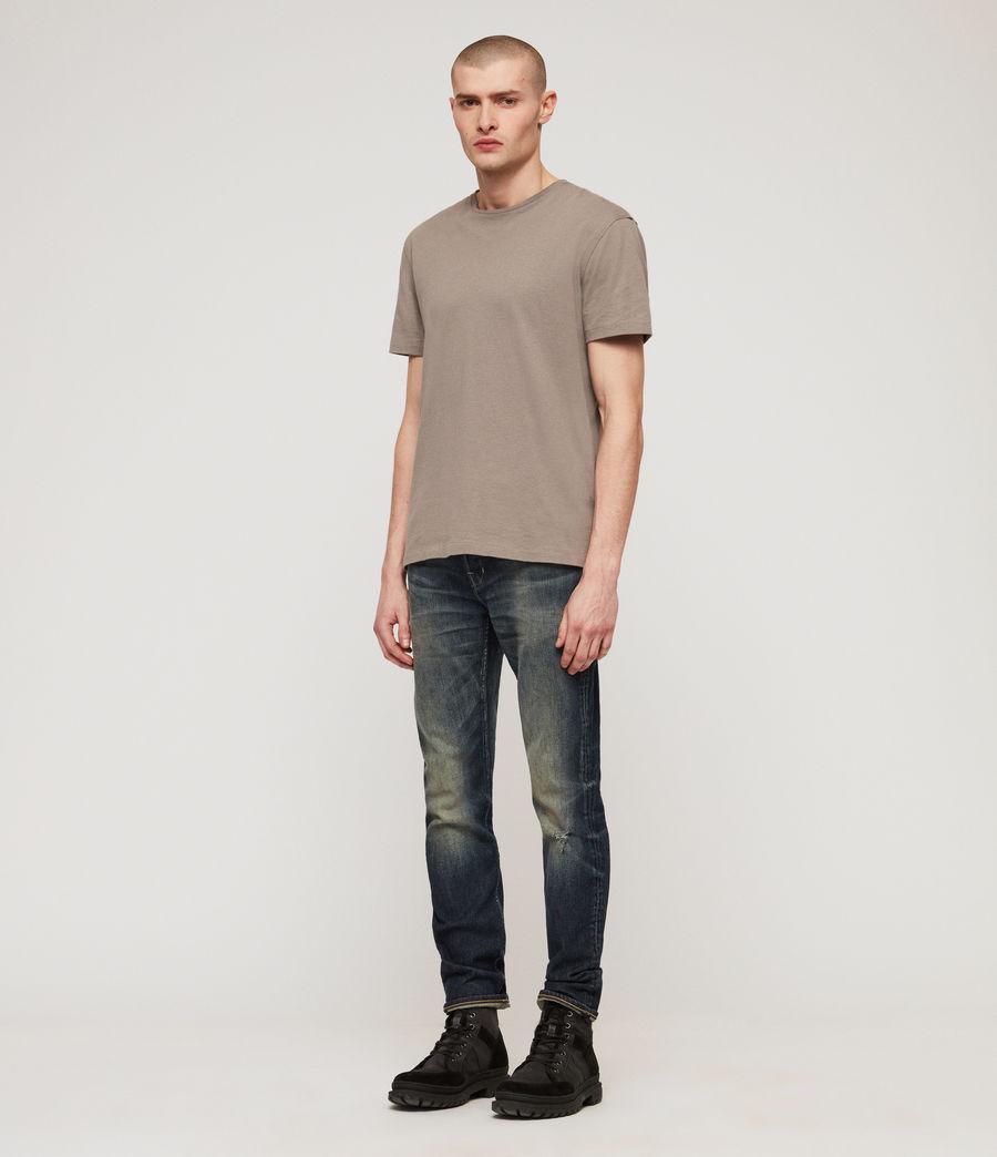 Herren Cigarette Skinny Jeans (mid_indigo_blue) - Image 3