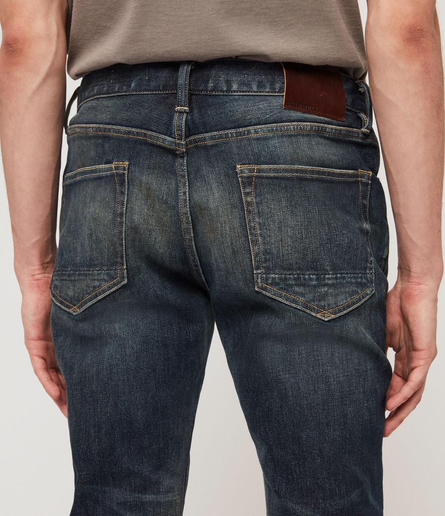 Herren Cigarette Skinny Jeans (mid_indigo_blue) - Image 5
