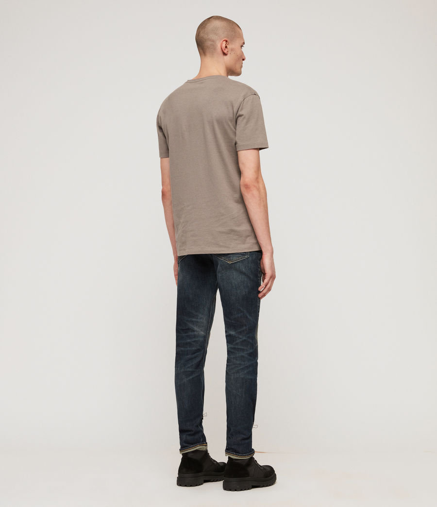 Herren Cigarette Skinny Jeans (mid_indigo_blue) - Image 6