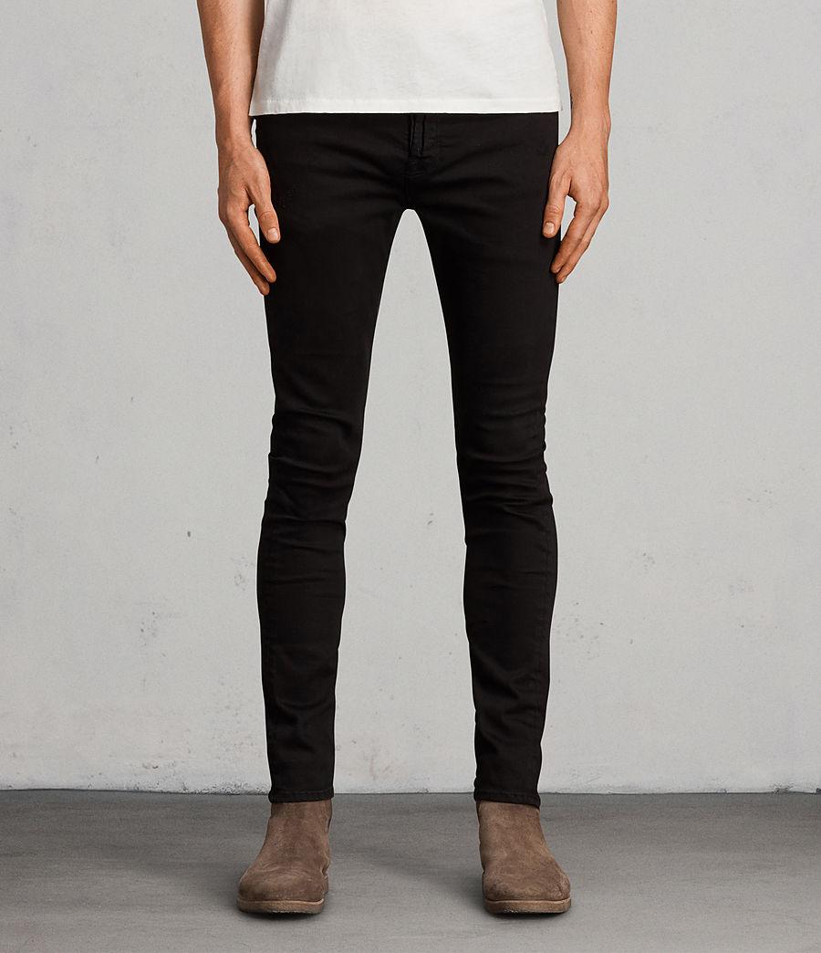 Men's Blouis Cigarette Skinny Jeans (black) - Image 1