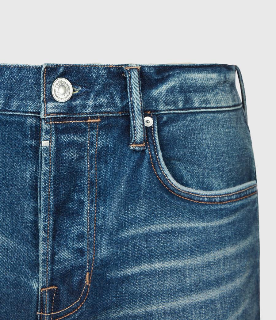 Herren Cigarette Skinny Jeans, Mid Indigo (mid_indigo) - Image 5