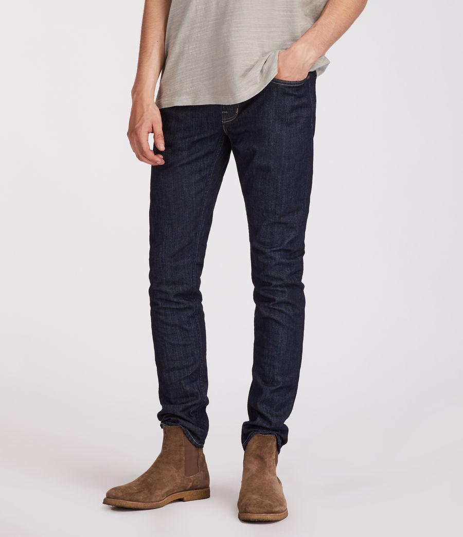 Men's Ivyside Rex Straight Skinny Jeans (indigo) - Image 1